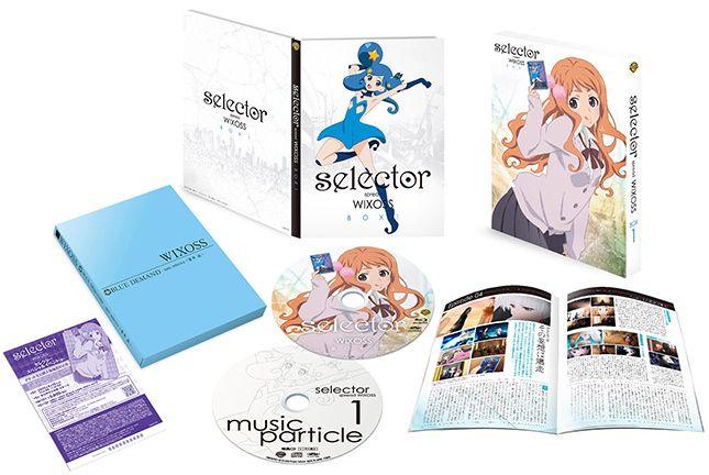 アニメ「ウィクロス 2期」のDVD&ブルーレイのボックス画像