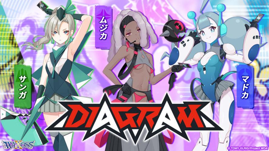 DIAGRAM(ダイアグラム):ムジカ&サンガ&マドカ
